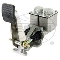"Baja Rock Crawler H.D. 4 Wheel Brake, Single Pedal, 7/8"" w/High Sq.Res.Polished"