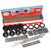 "Empi Hi-Performance 4030 Chromoly IRS axle Kit,Type 2 19 1/4"" ,33 Spline 16-2232"