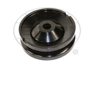 EMPI VW Bug Sand Rail Baja Buggy Black Billet 12 Volt Gen/Alt Pulley 16-9706