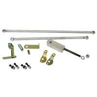 Twist Style Dual Solex/Brosol Carburetor Linkage Kit, Compatible with VW 1300-1600