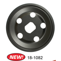 Black 12 Volt Alt/Gen Pulley Half Only VW Bug Sand Rail Baja Buggy EMPI 18-1082-0