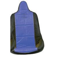 VW BUG BAJA ROCK CRAWLER SAND RAIL HI-BACK VINYL SEAT COVER, BLUE