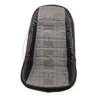 VW BUG BAJA ROCK CRAWLER SAND RAIL LOW-BACK VINYL SEAT COVER, GRAY
