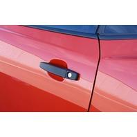 CA0019SB 2010-13 Chevrolet Camaro Smooth Black Powder Coated Billet Door Handles