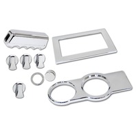 Mustang Chrome 9 Pc. Billet Interior Kit, Fits 2005-2009
