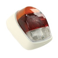VW Bug Left Complete  Tail Light Assembly 68-70, Euro Style  98-1091-B