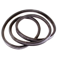 EMPI 98-4531-B WINDSHIELD SEAL W/GROOVE, TYPE 1, 65-77, SUPER BEETLE, 71-72