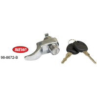 Rear Hatch Lock w/ Keys, VW Type 2 Transporter Bus, 1967-1971