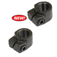 Spindle Clamp Nut w/ screw, 18mmx1.0 Left & Right, VW Type 2 Bus 68-79, Pair