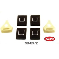 EMPI 98-8972 Guide Piece Kit, Seat Rails, Compatible With Type-1 1973-79 Bug, 111-898-213