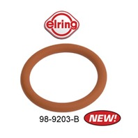 98-9203-B Pushrod Tube Seal, Viton Material, VW Type 2 Bus, 17-18-2000cc, Head Side (Outer), Each (Elring)