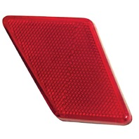 VW Bug Rear Left Tail Light Reflector Type 1, 70-72 Sold Each 98-9506-B