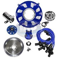 Engine Super Show Kit/ Dress Up Kit BLUE w/Pulley VW Bug  Dune Buggy  Beetle