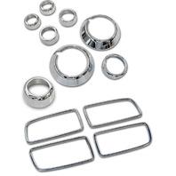 2011-2014 Chevy Camaro Chrome Billet 12pc Interior Trim Kit