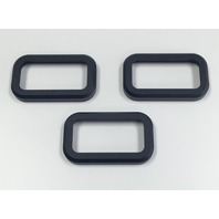 2003-2010 H2 Hummer SUV & SUT Black Billet Upper Marker Light Covers w/o Cage