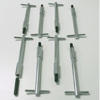 8 Muscle Car Chrome Steel Valve Cover T-Bar Ford V8 332 352 390 406 427 429-460
