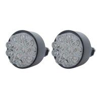 (2) 12 LED 3157 Bulb - White - Wedge Base - Epoxy Sealed