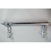 Billet Aluminum Holley 4150 Double Pumper Fuel Line Log Clear Anodized SBC BBC