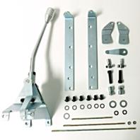 "GM (12"") Turbo 350 Transmission Shifter Kit - Chevy Hot Rat Street Rod"
