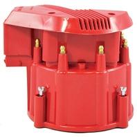 Red HEI Performance Distributor Cap & Rotor Hot V8 SBC BBC Olds Pontiac Chevy