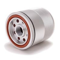 "Billet Aluminum Reusable Magnetic Oil Filter - 3.11"" Tall 2.7"" Dia. M20-1.5 Thread"