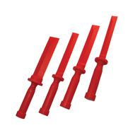 Super Scraper Prying Tools Non Mar 4 Piece Set Auto Body Plastic Chisel Scraper
