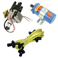 EMPI VW SVA Vacuum- Distributor Electronic Ignition, Yellow Screamer Kit KT-1000