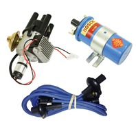EMPI VW SVA Vacuum- Distributor Electronic Ignition, Blue Screamer Kit KT-1002