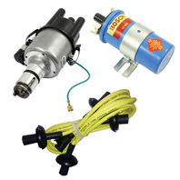 EMPI VW 009 Comp. Distributor W/Points Ignition, Yellow Screamer Kit KT-1008