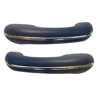 TMI PRODUCTS  VW BUG BEETLE TYPE 1  Arm rest, 58-67, Type 1 , #18 BLUE, Pair
