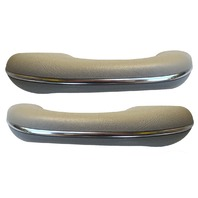 TMI VW BUG BEETLE TYPE 1  Arm rest, 58-67, Type 1 , #16 GREY, PAIR