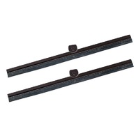 Wiper Blade Package, Black, 1950-67 Type 2 VW Bus, Pair