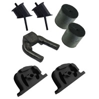 TRANSMISSION MOUNT/MOTOR SUPPORT KIT, 7 PC, KIT, 1972-79 VW TYPE 2 BUS