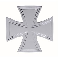 "Iron Cross Chrome Billet Tow Trailer HITCH Cover w/ 2"" RECEIVER Chevrolet GM"