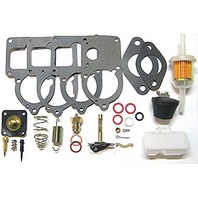 Radke Solex Carb Rebuild Kit, 30pc, Fits VW Type-1 Bug/Beetle 28 Pict-34-3 w/ Floats, 113-198-575U