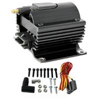 Black Universal 12 Volt External Ignition Coil E-Core Coil 50K Volt SB Chevy Ford