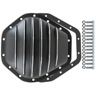 "Black Aluminum Chevy GMC 14 Bolt Diff  10.5"" RG Differential Cover 2500HD 3500HD"