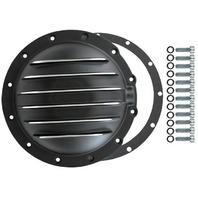 Black Fin Aluminum Jeep 12-Bolt AMC 20 Axle Diff Differential Cover CJ5 CJ7 J10