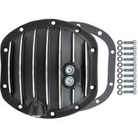 Black Finned Aluminum Dana 30 10-Bolt Diff Differential Cover Bronco CJ MOPAR