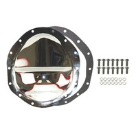 "Chrome Steel Chevy GM 14 Bolt 9.5"" RG Diff  Differential Cover"