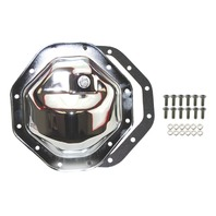 """Chrome Steel Dodge Chrysler Jeep 12 Bolt  9.5"""" RG Diff  Differential Cover"""