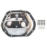 Chrome Steel Dana 44 10-Bolt Diff Differential Cover GM Ford MOPAR Jeep
