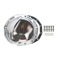 Chrome Steel Chevy GM 12 Bolt Differential Cover For 8-7/8 Inch Ring Gear