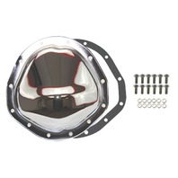 "Chrome Steel Chevy GM 12 Bolt Diff  8.75"" RG Differential Cover REAR"