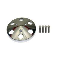 Machined Aluminum Sanden 508 Style A/C Air Compressor Clutch Cover Faceplate
