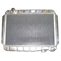 Chevy Universal Horizontal Flow Aluminum Radiator For Auto Trans 15.5 X 23.5