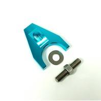 Hot Rod Blue Billet Aluminum Distributor Hold Down Clamp SBC 350 BBC 454