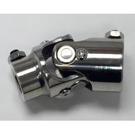 "Pol Stainless Steel Universal Single Steering U-Joint 3/4"" DD x 5/8-36 Spline"