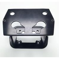 Smooth Black Billet Aluminum Optima Battery Tray - Chevy/Ford/Mopar