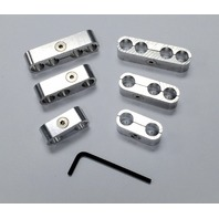 Hot Rod Billet Ignition Spark Plug Wire Looms Seperators 8-9mm